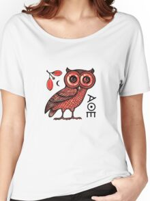 Athena's Owl Women's Relaxed Fit T-Shirt