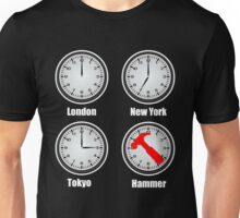Hammer World Time Unisex T-Shirt