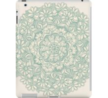 Sage Medallion with Butterflies & Daisy Chains iPad Case/Skin