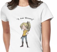 Beth: I Am Strong Womens Fitted T-Shirt