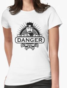 Walter White - I Am The Danger Womens Fitted T-Shirt