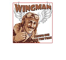 The Wingman taking one for the team Photographic Print