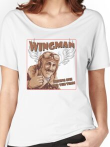 The Wingman taking one for the team Women's Relaxed Fit T-Shirt