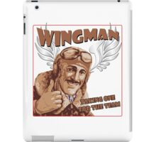 The Wingman taking one for the team iPad Case/Skin