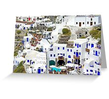 Oia II Greeting Card