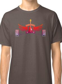 Rock and Roll Guitar Wings Classic T-Shirt