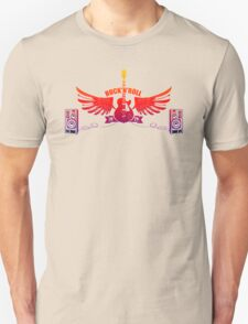 Rock and Roll Guitar Wings T-Shirt