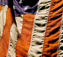 Vintage Flag of the United States of America by Jamie Greene