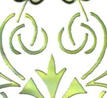 Celtic Plants Sticker