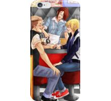 Retro Lovers iPhone Case/Skin