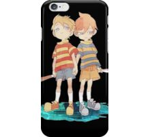 Twins Lucas and Claus iPhone Case/Skin