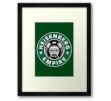 Heisenberg Empire Framed Print