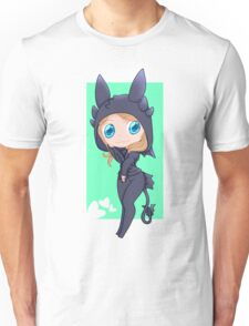 Jocy in a Toothless hoodie Unisex T-Shirt