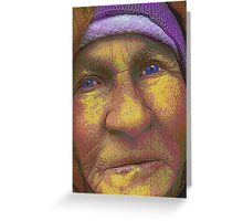 And when I am an old woman I shall wear purple... Greeting Card