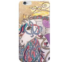 Painted Pony by Pauline Campos iPhone Case/Skin