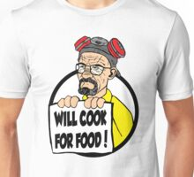 Will Cook For Food Unisex T-Shirt