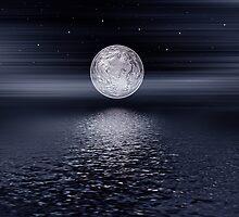 Moon night by Olga Altunina