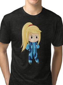 Mini Zero Suit Samus Tri-blend T-Shirt
