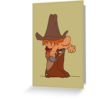The Deputy of Squatsville  Greeting Card