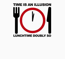 Time is an Illusion, Lunchtime Doubly So Unisex T-Shirt