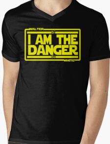 I Am The Danger Mens V-Neck T-Shirt