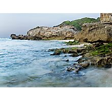 Beach Scene  .. Photographic Print