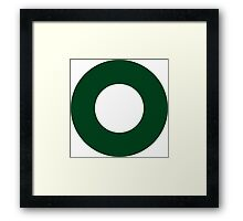 Pakistan Air Force - Roundel Framed Print