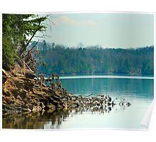 Carter Lake, Chatsworth, Georgia, USA II Poster