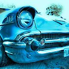 1957 Chev - FLAMN 57 (No. 2) by Heather Linfoot