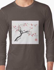 New hope sumi-e painting Long Sleeve T-Shirt