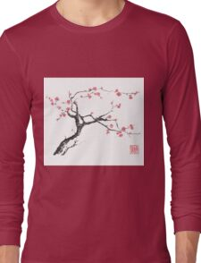 New hope sumi-e painting Long Sleeve T-Shirt