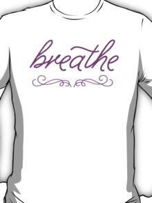 Breathe- Purple T-Shirt