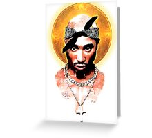 Tupac The Lost Angel Greeting Card