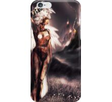 Ambient Electra [Digital Figure Drawing...Mirrored version] iPhone Case/Skin