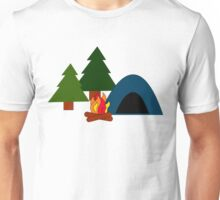 Tent Camping Unisex T-Shirt