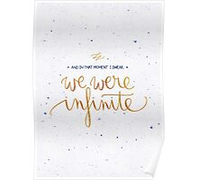 We were infinite Poster