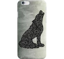 Geo-Wolf iPhone Case/Skin