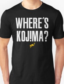 Where's Kojima? Unisex T-Shirt
