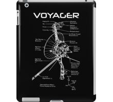 Voyager Program - White Ink iPad Case/Skin