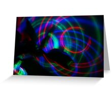 Light in Movement Greeting Card
