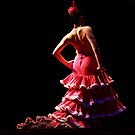 Flamenco dancer by annalisa bianchetti