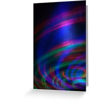 Light in Movement 5 Greeting Card