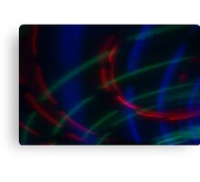 Light in Movement 6 Canvas Print