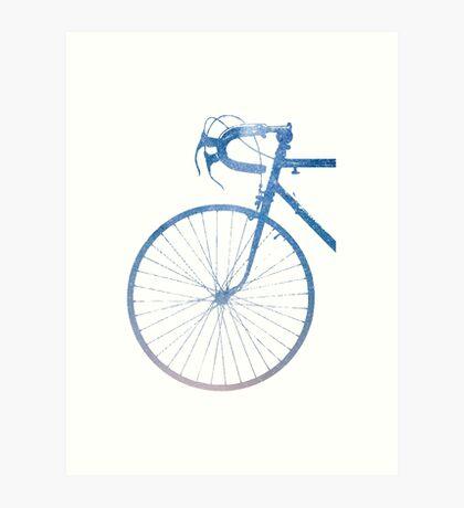 Crescent Bike Galaxy Art Print