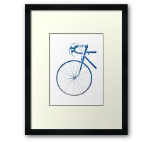 Crescent Bike Galaxy Framed Print