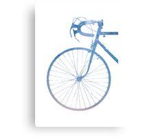 Crescent Bike Galaxy Metal Print