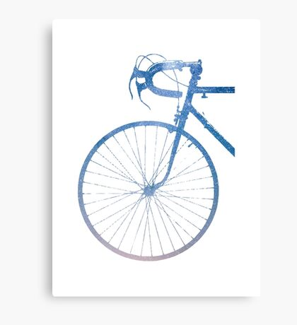 Crescent Bike Galaxy Canvas Print