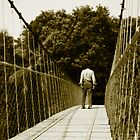 Waiting on the Bridge by AjayP