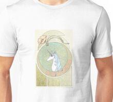 Art Nouveau The Last Unicorn Unisex T-Shirt
