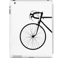 Crescent Bike Black iPad Case/Skin